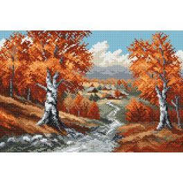 K 4018 Předtištěná kanava - Podzim