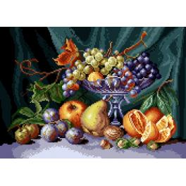 GC 7081 Předloha - Zátiší - mísa s ovocem