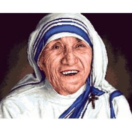 K 7315 Předtištěná kanava - Matka Tereza