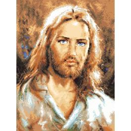 K 7311 Předtištěná kanava - Ježíš Kristus