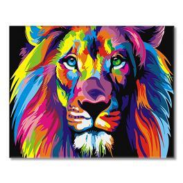 SI Ms9231 Malování podle čísel - Duhový lev