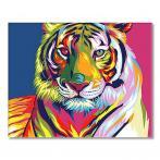 SI Ms7902 Malování podle čísel - Duhový tygr