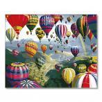 SI Ms8872 Malování podle čísel - Let balónem