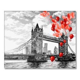 WD C037 Malování podle čísel - Tower Bridge