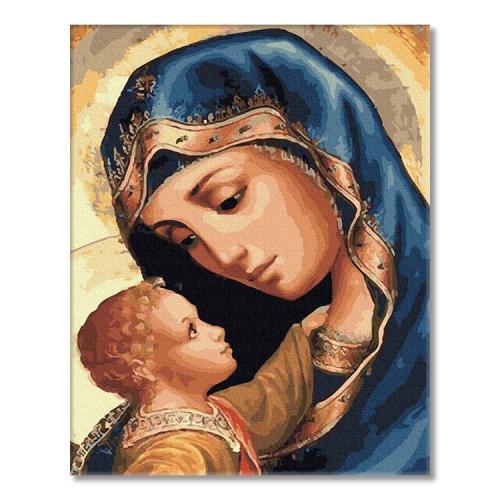 PC4050497 Malování podle čísel - Panna Marie a Ježíš