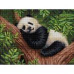 M AZ-1826 Diamond painting sada - Spící panda