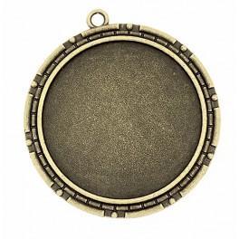 Základna medailónu kulatá bronz 40mm