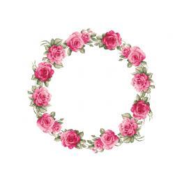 W 10449 Předloha ONLINE pdf - Ubrus s růžemi