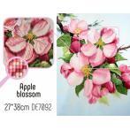 ZTDE 7092 Diamond painting sada - Kvetoucí jabloň