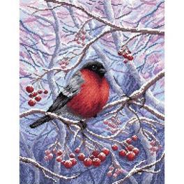 ZMC-027 Diamond painting sada - V zimním lese
