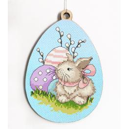 GC 10316 Předloha - Vajíčko s velikonočním zajíčkem
