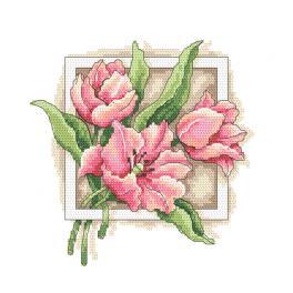 Z 10312 Vyšívací sada - Vděčné tulipány