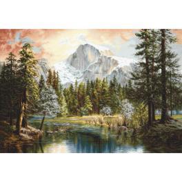 LS B604 Vyšívací sada - Úžasný svět přírody
