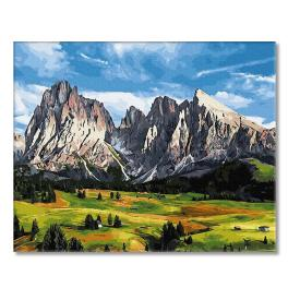 PC4050557 Malování podle čísel - Tři světy krásy