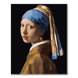 PC4050731 Malování podle čísel - Dívka s perlou, J. Vermeer