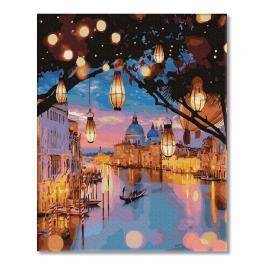 PC4050480 Malování podle čísel - Noční světla v Benátkách