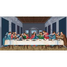 K 727 Předtištěná kanava - Poslední večeře - L. da Vinci