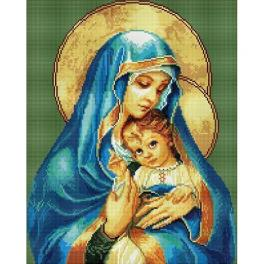 PD4050111 Diamond painting sada - Matka Boží