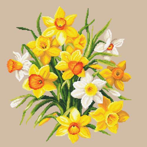 Z 10672 Vyšívací sada - Narcisy II
