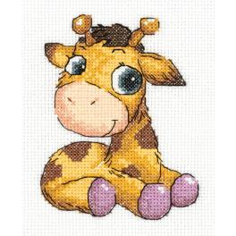 PA 8-362 Vyšívací sada - Žirafka Jojo