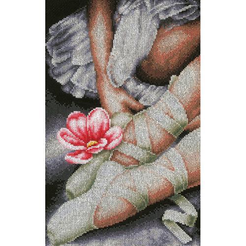 LPN-0157513 Vyšívací sada - Moje baletní botičky
