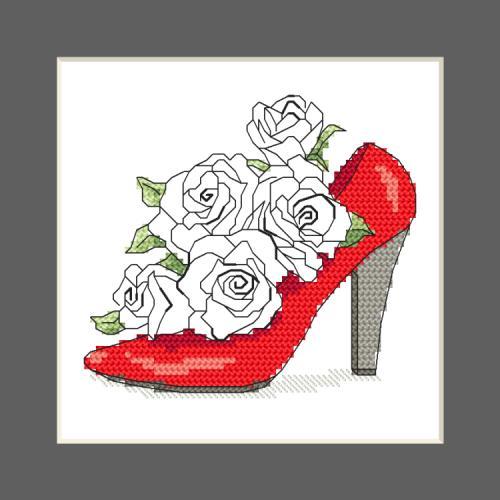 W 10327-01 Předloha ONLINE pdf - Přání - Obálka plná růží