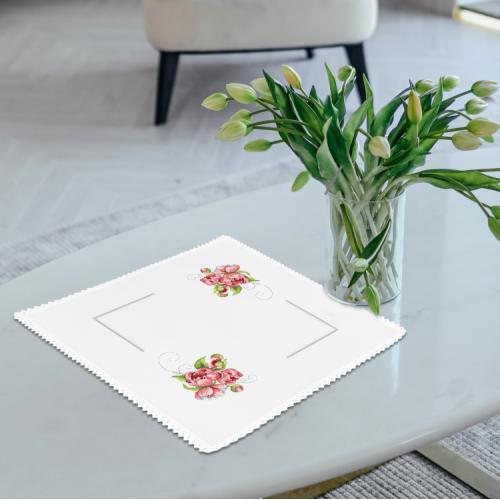 ZU 10458 Vyšívací sada - Ubrousek s polními květy