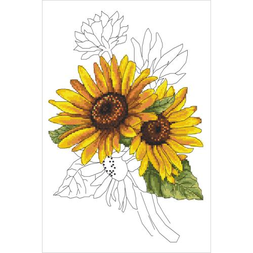 GC 10322 Předloha - Majestátní slunečnice