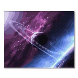 PC4050645 Malování podle čísel - Neznámé barvy vesmíru