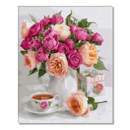 PC4050555 Malování podle čísel - Kytice růží