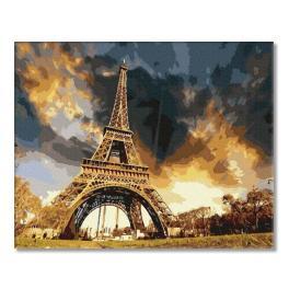 PC4050296 Malování podle čísel - Pod pařížským nebem