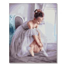 GX33063 Malování podle čísel - Malá baletka