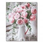 GX29390 Malování podle čísel - Pudrové růže