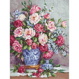 LS B605 Vyšívací sada - Růže Její Výsosti