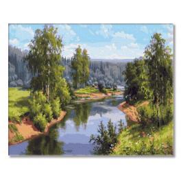 PC4050554 Malování podle čísel - Letní krajina