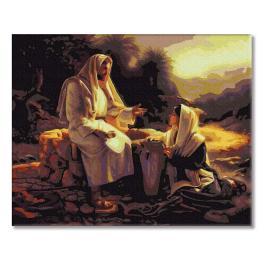 PC4050475 Malování podle čísel - Ježíš a Samaritánka