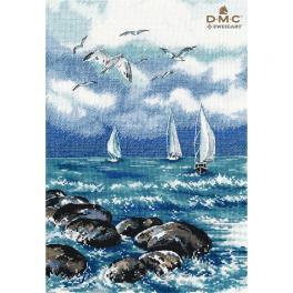 OV 1308 Vyšívací sada - Na moři