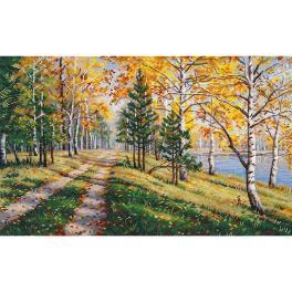 OV 1294 Vyšívací sada - Podzimní sezóna