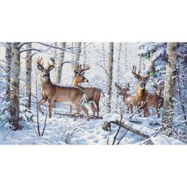 DIM 35130 Vyšívací sada - Zima v lese